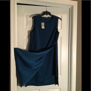 NWT size 14P panel dress
